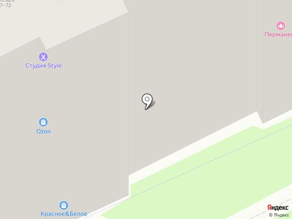 Style на карте Борисовичей