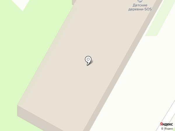 Детская деревня-SOS Псков на карте Борисовичей