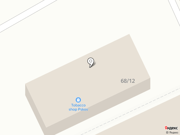 Магазин женской одежды из вискозы на карте Пскова