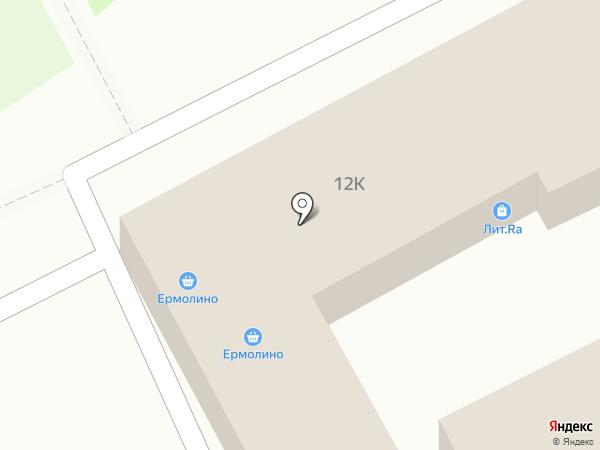 Сундучок на карте Пскова
