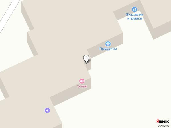 Магистраль на карте Пскова