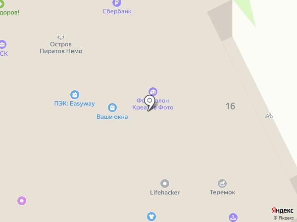 Профессиональный боец на карте Пскова
