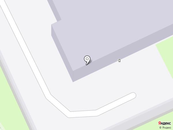 Стрела на карте Пскова