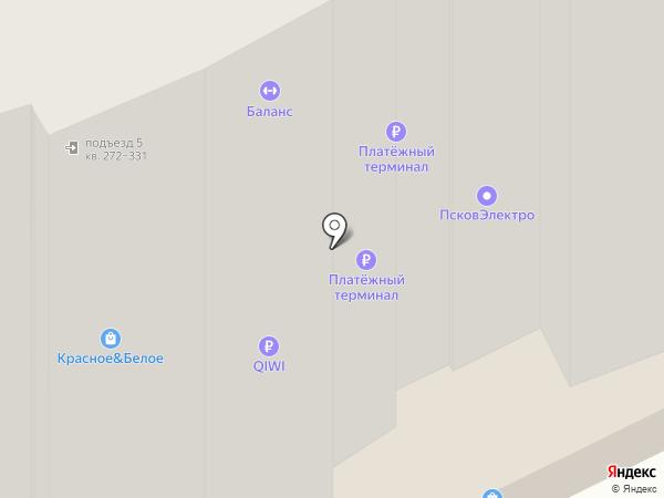 Пятёрочка на карте Борисовичей