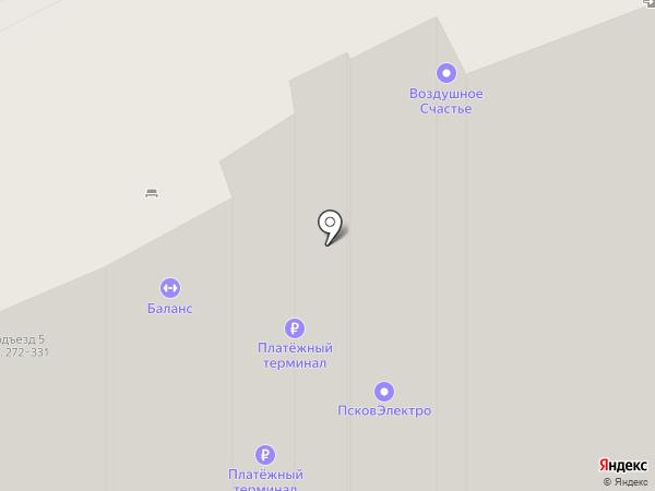 Автополка на карте Борисовичей
