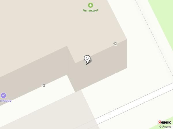 Милана на карте Пскова