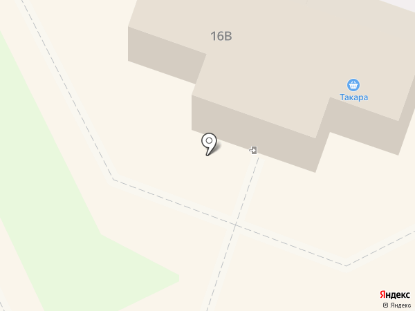 Такара на карте Пскова