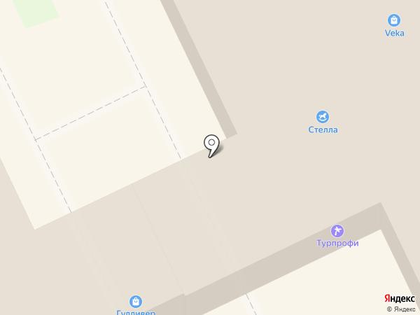 Рилай на карте Пскова
