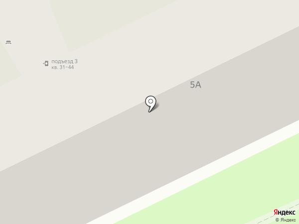 Отражение на карте Пскова