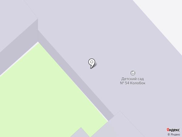 Детский сад №54, Колобок на карте Пскова