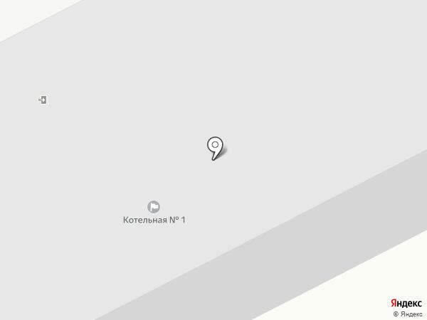 Котельная №1 на карте Пскова