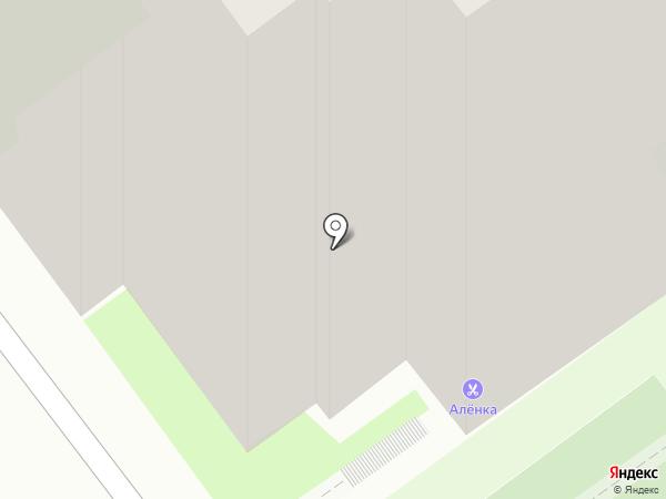 Алёнка на карте Пскова