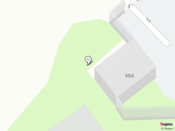 Автостоянка на Коммунальной на карте Пскова