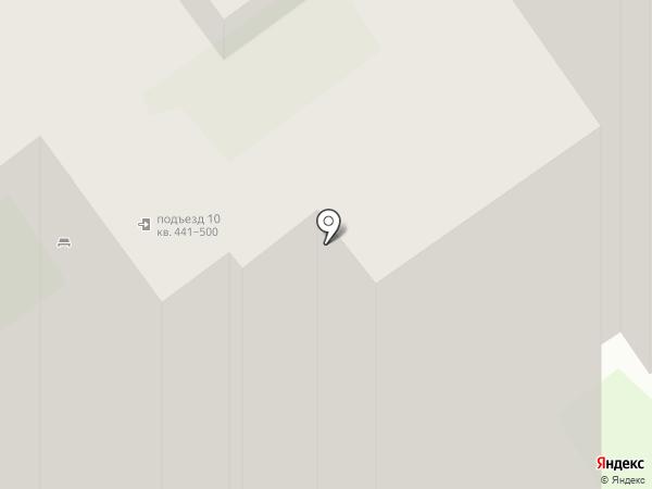 Продуктовый магазин на Технической на карте Пскова
