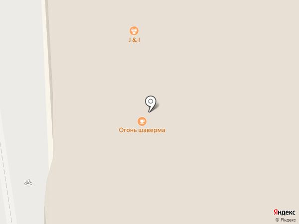 J & I на карте Пскова