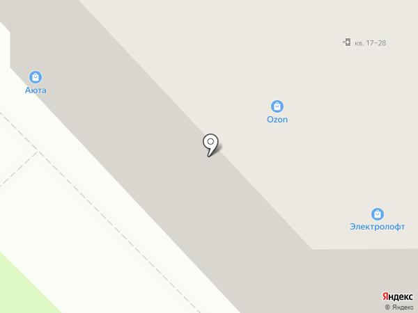 АЮТА на карте Пскова
