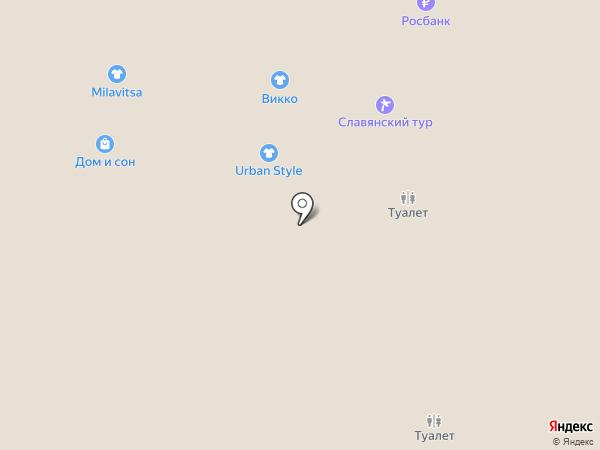 Марка 78 на карте Пскова