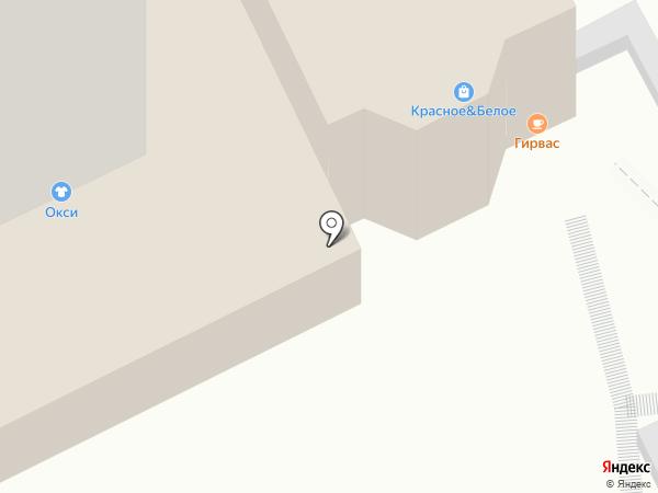Обжора на карте Пскова
