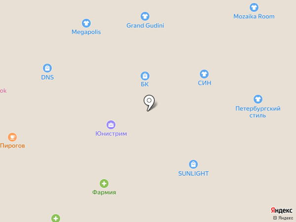 Рив Гош на карте Пскова