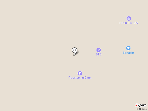 585 GOLD на карте Пскова