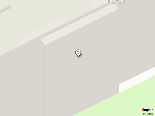 Амелия на карте Пскова