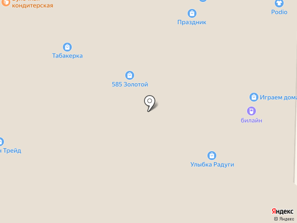 Лисенок на карте Пскова