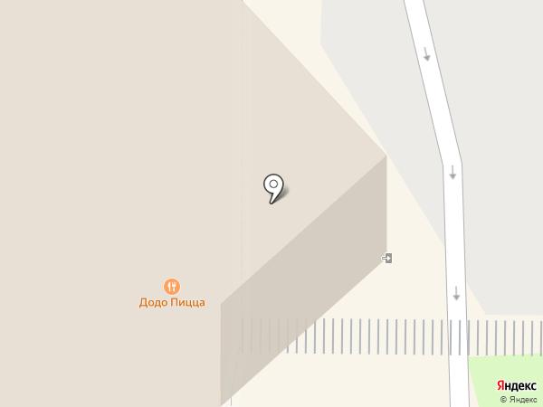 Магазин напольных покрытий на карте Пскова