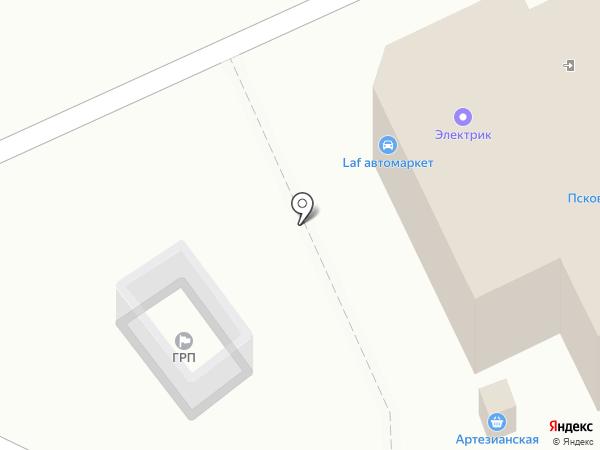 LAF24 на карте Пскова