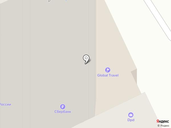 Роджер на карте Пскова