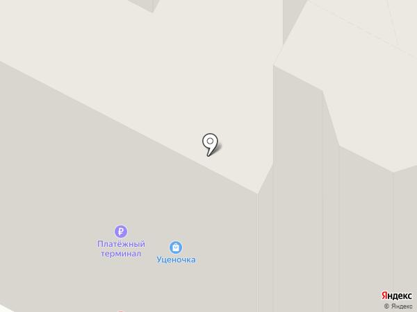 Котофей на карте Пскова