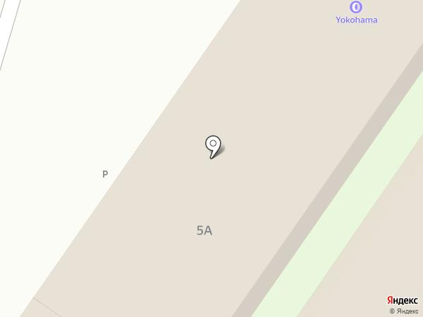 Автомойка на Чудской на карте Пскова