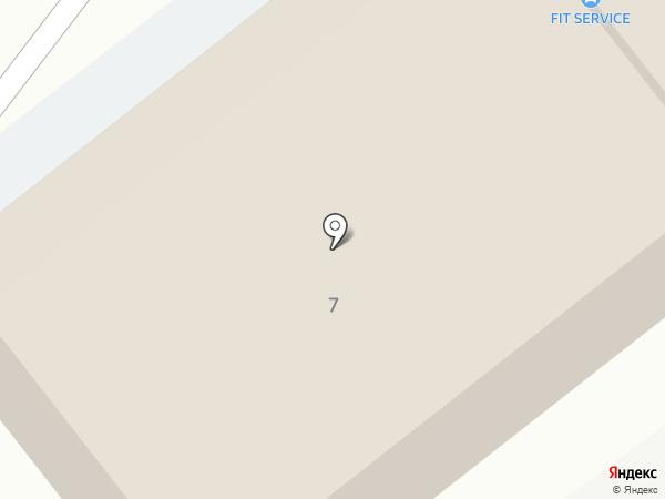 Еврокарс на карте Пскова
