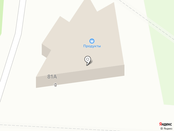 Продуктовый магазин на Юбилейной на карте Пскова