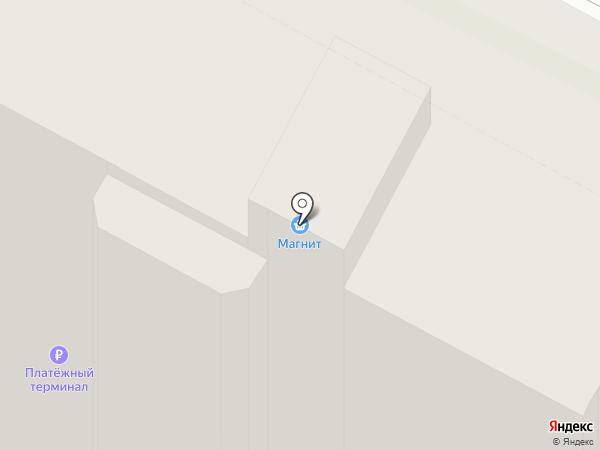 Магнит на карте Пскова