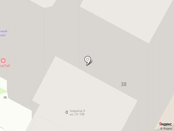 Черский на карте Пскова