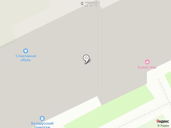 Айсберг на карте Пскова