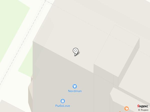 Магазин товаров для рукоделия на карте Пскова