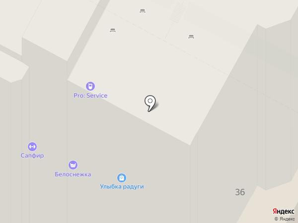 Сапфир на карте Пскова