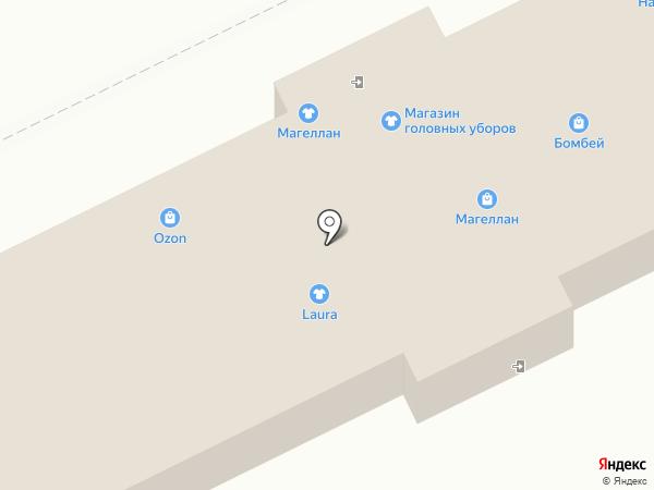 Головные уборы на карте Пскова
