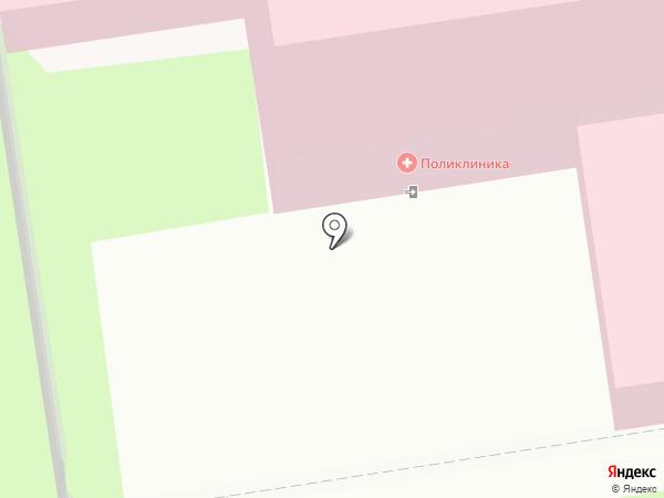 Центр здоровья на карте Пскова