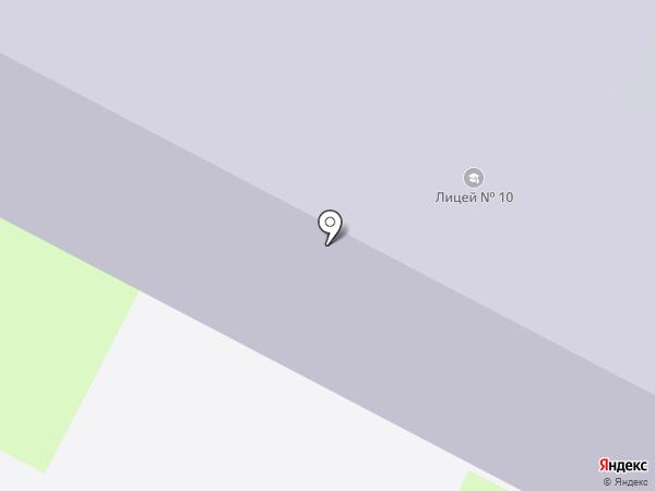 Избирательный участок №89 на карте Пскова