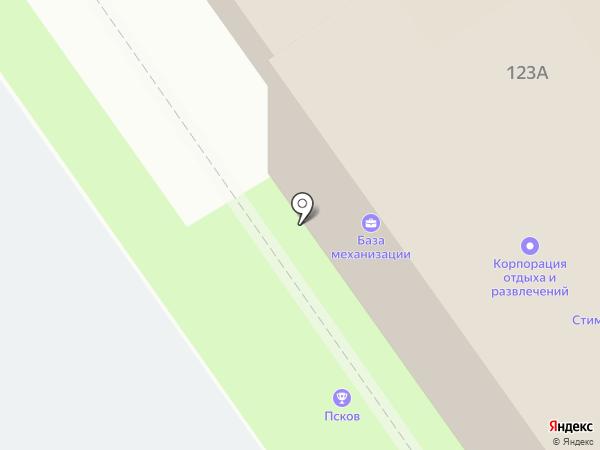 Эко Хаус на карте Пскова