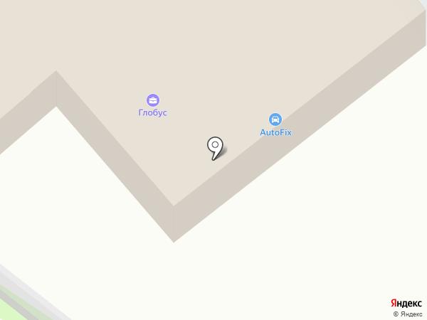AutoFix на карте Пскова