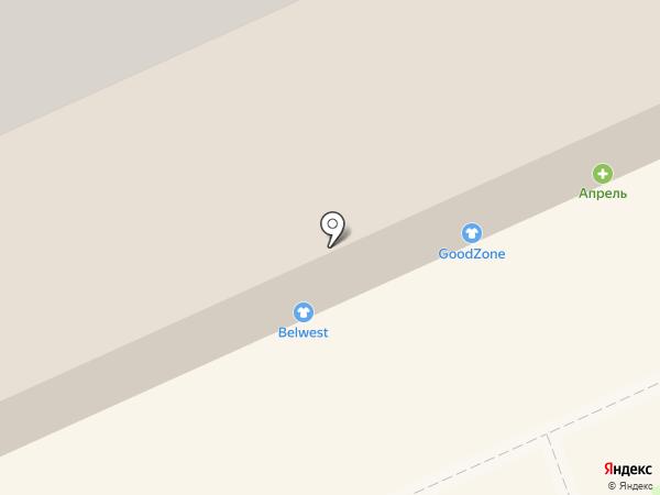 BELWEST на карте Пскова
