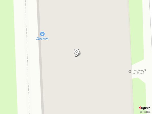 Улыбка на карте Пскова