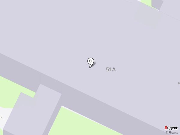 Детский сад №44 на карте Пскова