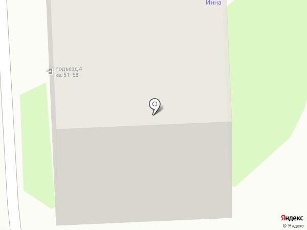 Инна на карте Пскова