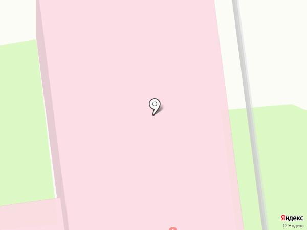 Псковская станция скорой медицинской помощи на карте Пскова