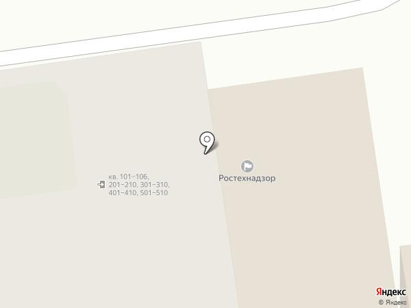 Северо-Западное управление Ростехнадзора по Псковской области на карте Пскова