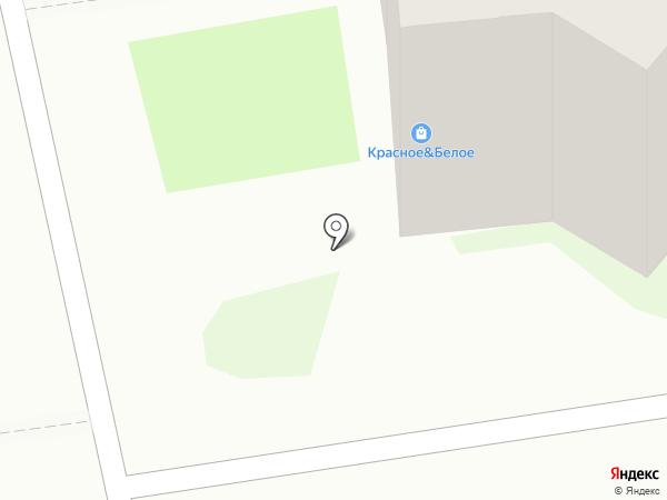 Красное & Белое на карте Пскова